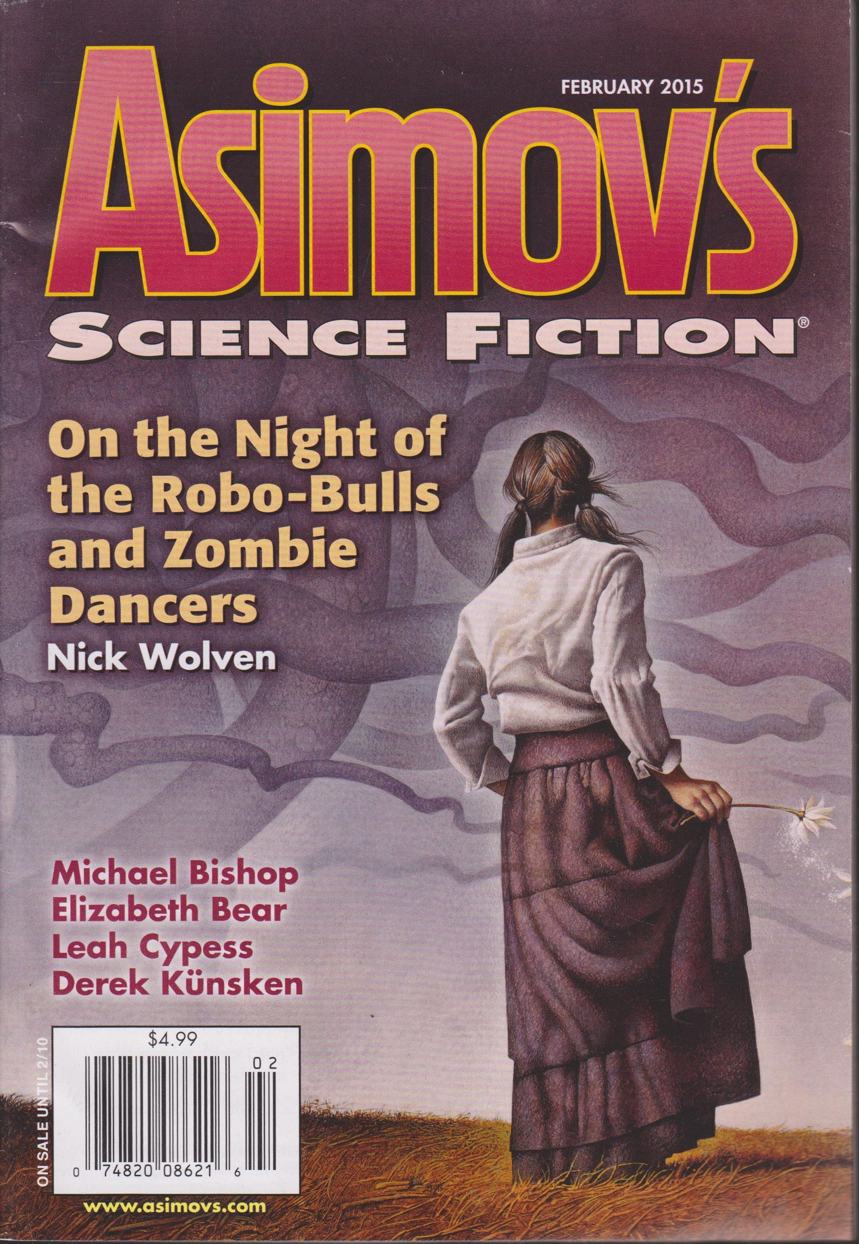 Read Online Asimov's Science Fiction, February 2015 ebook