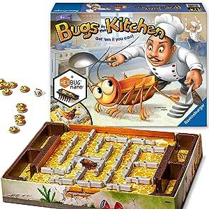 Ravensburger - Juego de Habilidad Bugs in The Kitchen, de 2 a 4 Jugadores (22261) (versión en inglés): Amazon.es: Juguetes y juegos