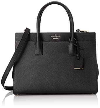 943343205a kate spade new york Cameron Street Candace Satchel Bag, Black, One Size
