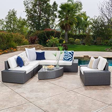 Great Deal Furniture 296736 Reddington Patio Furniture Set