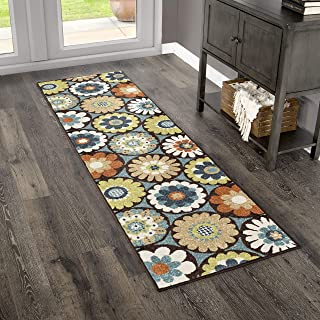 "product image for Orian Rugs 2315 Veranda Indoor/Outdoor Vissage Runner Rug, 2'3"" x 8', Gemstone"