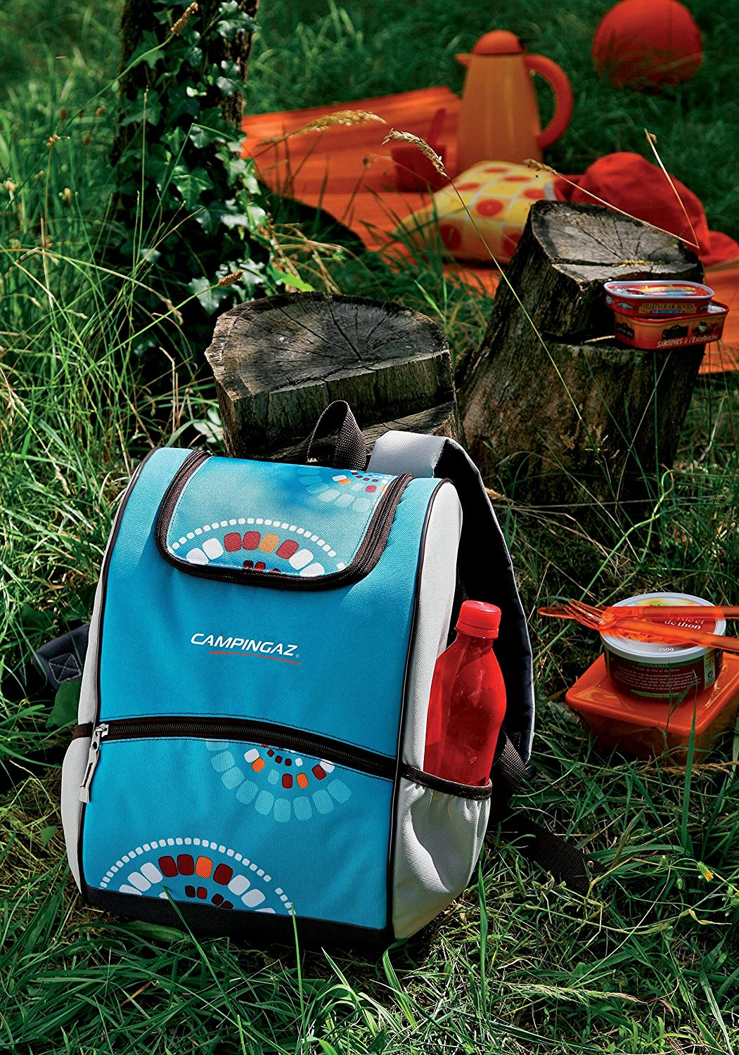 Campingaz Bacpac Ethnic Nevera Flexible Azul 9 l