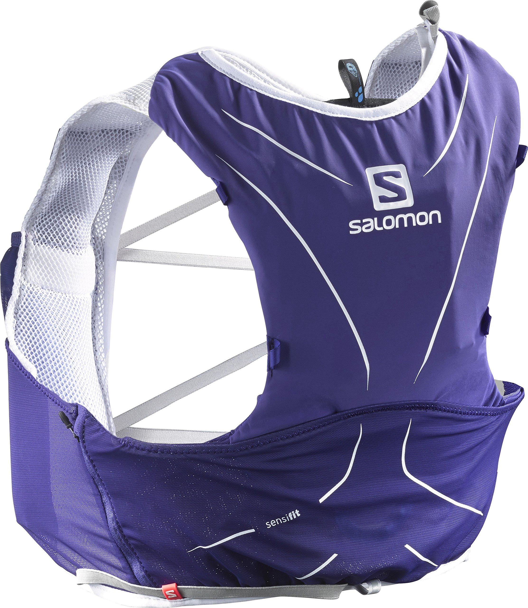 Salomon Salomon ADV SKIN 5 SET Sports Water Bottles, Spectrum Blue/White, X-Small/Small