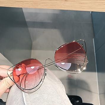 VVIIYJ Gafas de Sol de Ojos de Gato Gafas de Sol graduadas ...