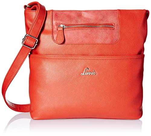 dc154bfe3 Lavie Steen Women s Sling Bag (Red)  Amazon.in  Shoes   Handbags