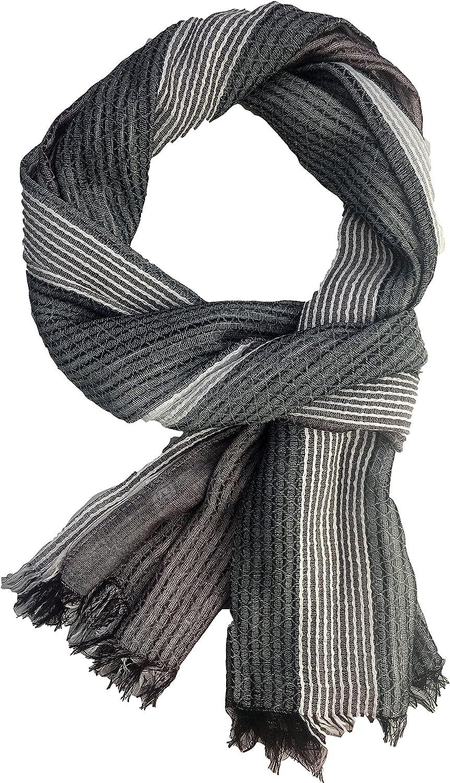 New Ladies Quality Scarf Ladies Large Stripy Scarves Girls Shawl Neckerchief