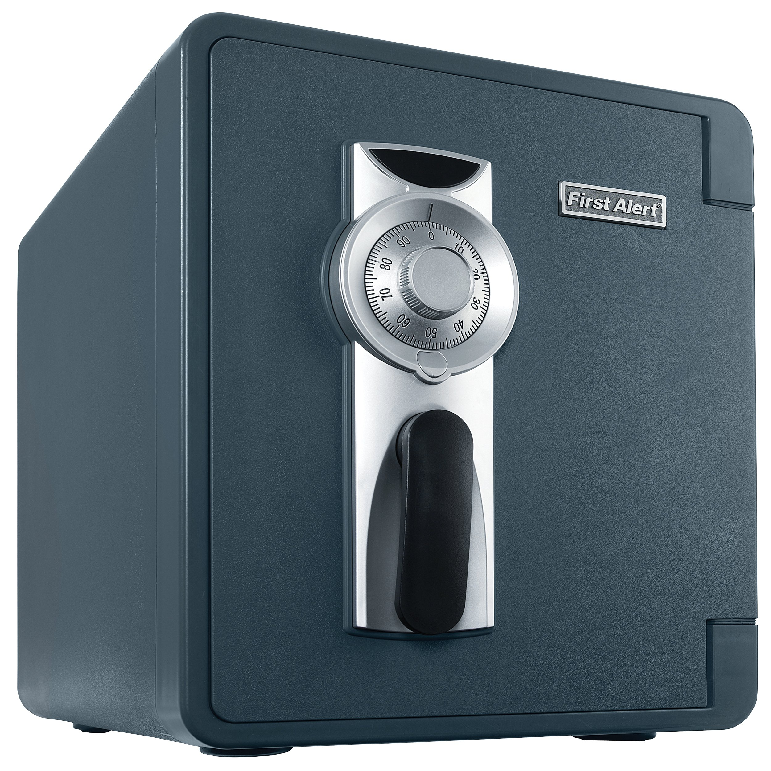 First Alert 2087F Waterproof and Fire-Resistant Bolt-Down Combination Safe, 0.94 Cubic Feet by First Alert