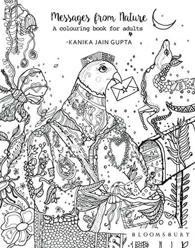 Messages from Nature: A Colouring Book for Adults