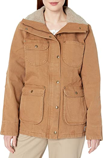 Carhartt Womens Weathered Duck Wesley Coat