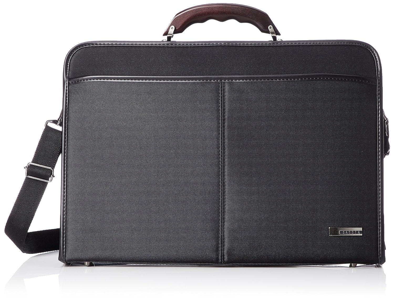 [バジェックス] ビジネスバッグ ダレス型 A4書類対応 日本製 23-0590 B07F23D41K ブラック