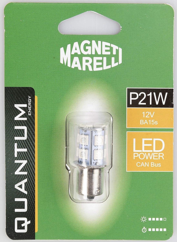 MAGNETI MARELLI 070.00000000009498 T10 Coppia di lampadine Auto LED 2SMD 12V Attacco W2,1X9,5d