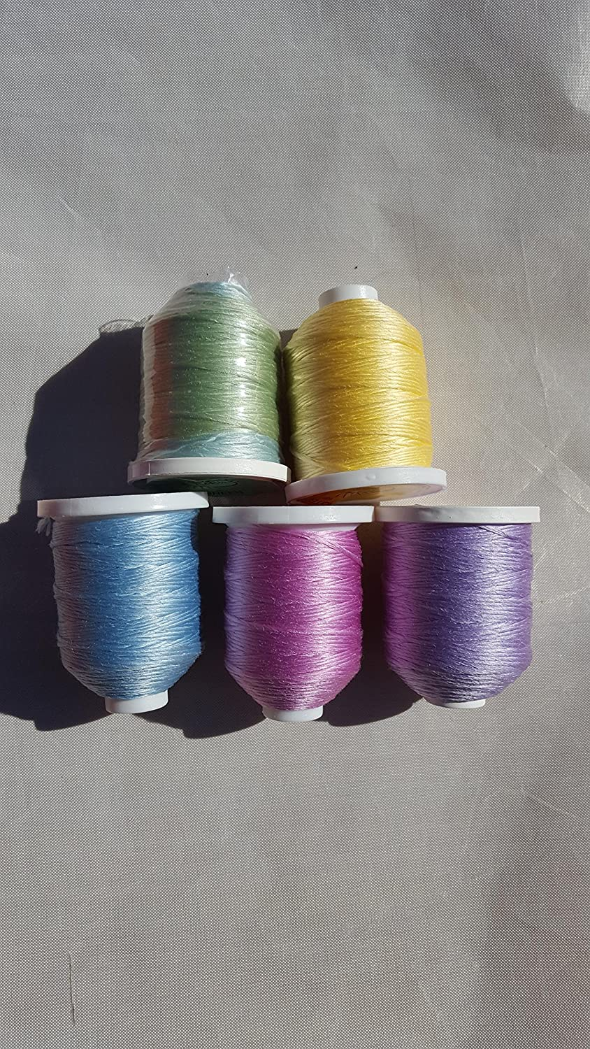 White to Magenta 90yd SolarActive Color Changing Serger//Craft Thread