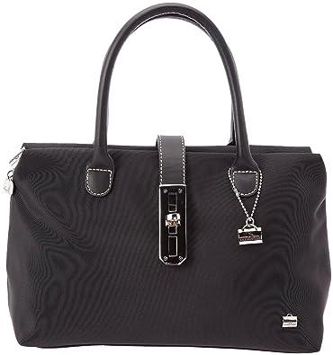 a03d7b2efa La Bagagerie Shopping X, Sac porté main - Noir (Noir/Noir), Taille Unique:  Amazon.fr: Chaussures et Sacs