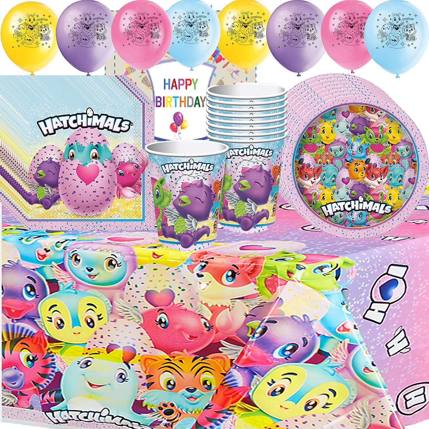 50OFF Hatchimals Birthday Party Supplies Pack