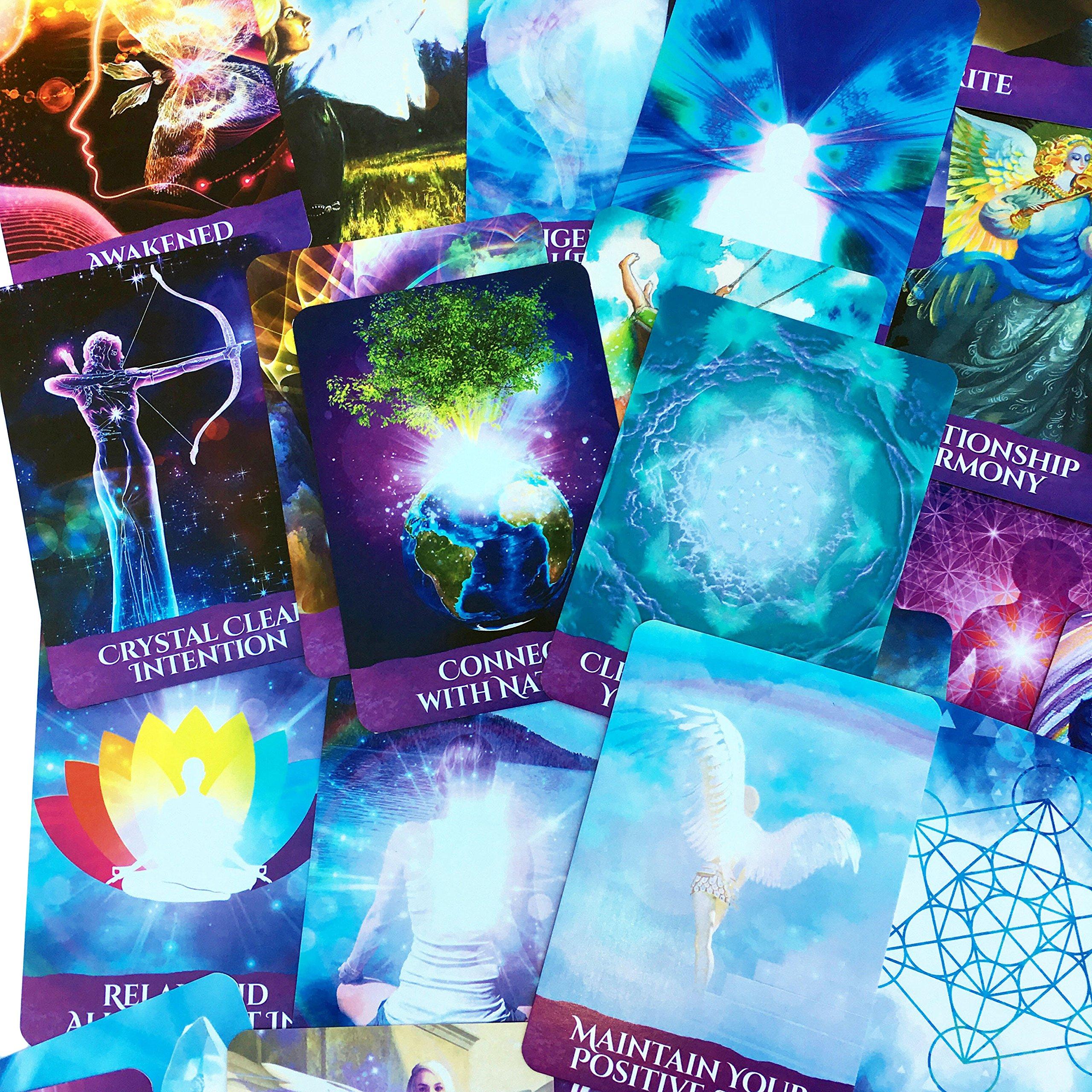 Ascension Angel Cards: Melanie Beckler: 9781946208774: Amazon.com: Books