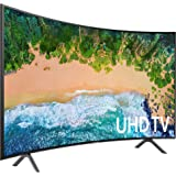 "Samsung UE55NU7370UXZT UHD Smart TV, 55"", Tecnologia LED, Nero"