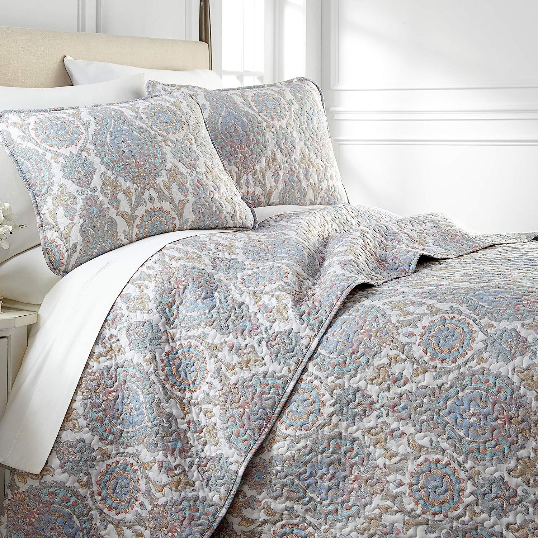 Southshore Fine Living Navy Blue Inc Oversized Quilt 2 Piece Set Twin//Twin XL