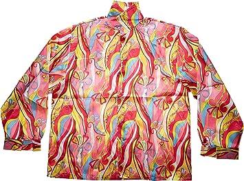 WIDMANN Camisa años 70, talla L: Amazon.es: Juguetes y juegos