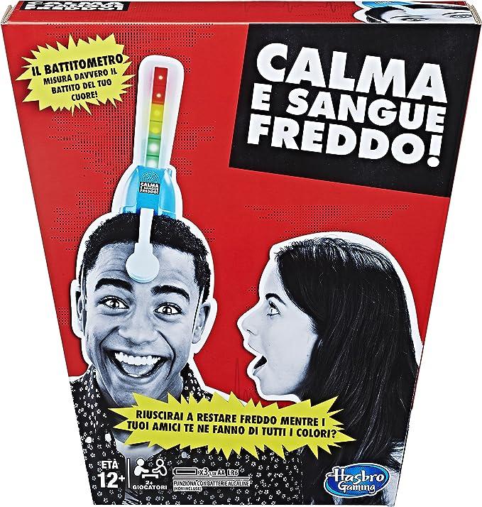 Hasbro Games – Calma y Sangre fría Juegos de Caja: Amazon.es ...