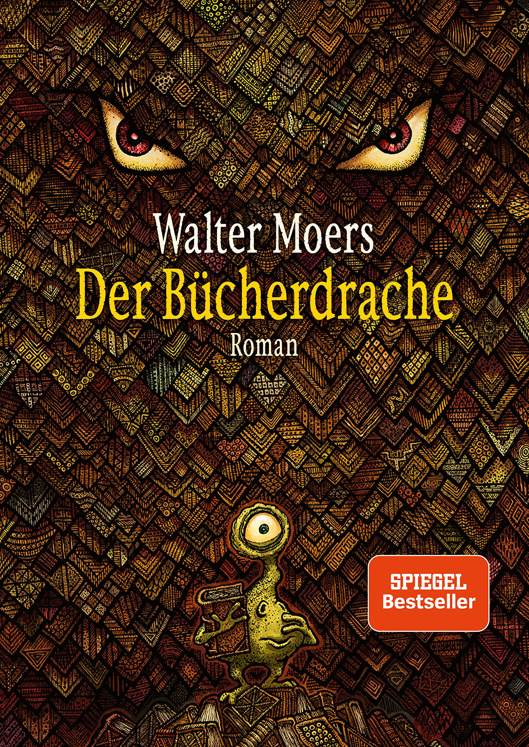 Der Bücherdrache: Roman - mit Illustrationen des Autors: Amazon.de: Moers,  Walter: Bücher