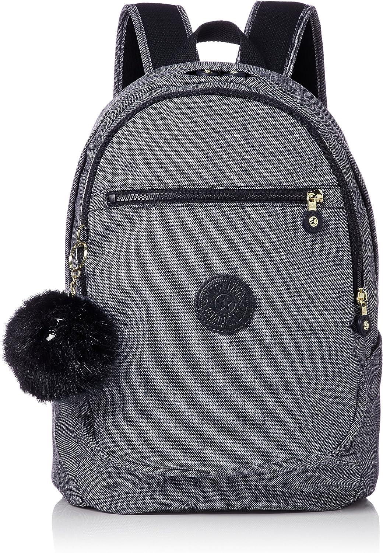 Kipling CLAS Challenger, Mochila Unisex Adulto, Azul (Cotton Jeans), 15x24x45 cm (W x H x L): Amazon.es: Zapatos y complementos