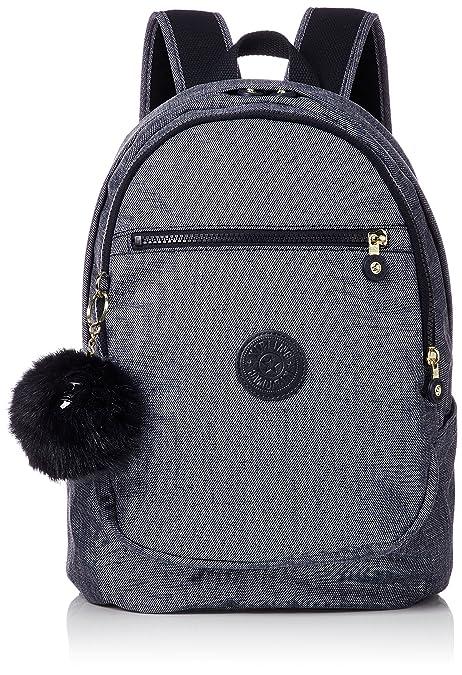 Kipling CLAS Challenger, Mochila Unisex Adulto, Azul (Cotton Jeans) 15x24x45 cm (W x H x L): Amazon.es: Zapatos y complementos