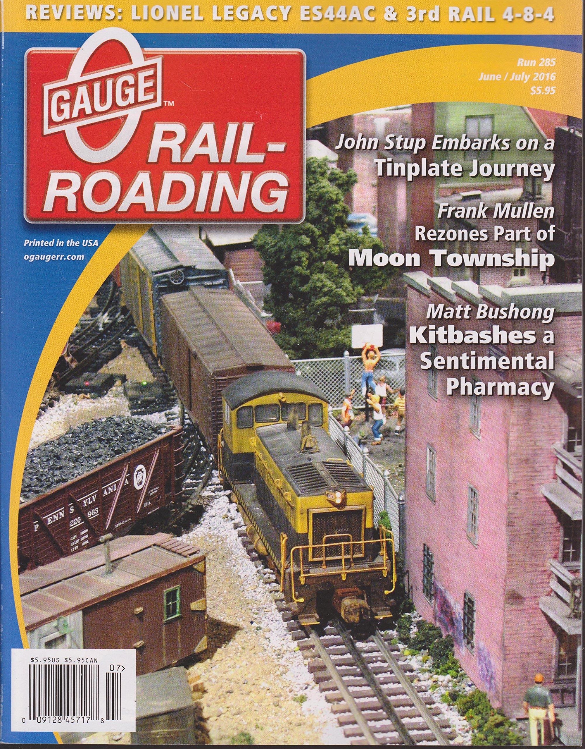 Read Online O Gauge Railroading Magazine June/July 2016 pdf epub