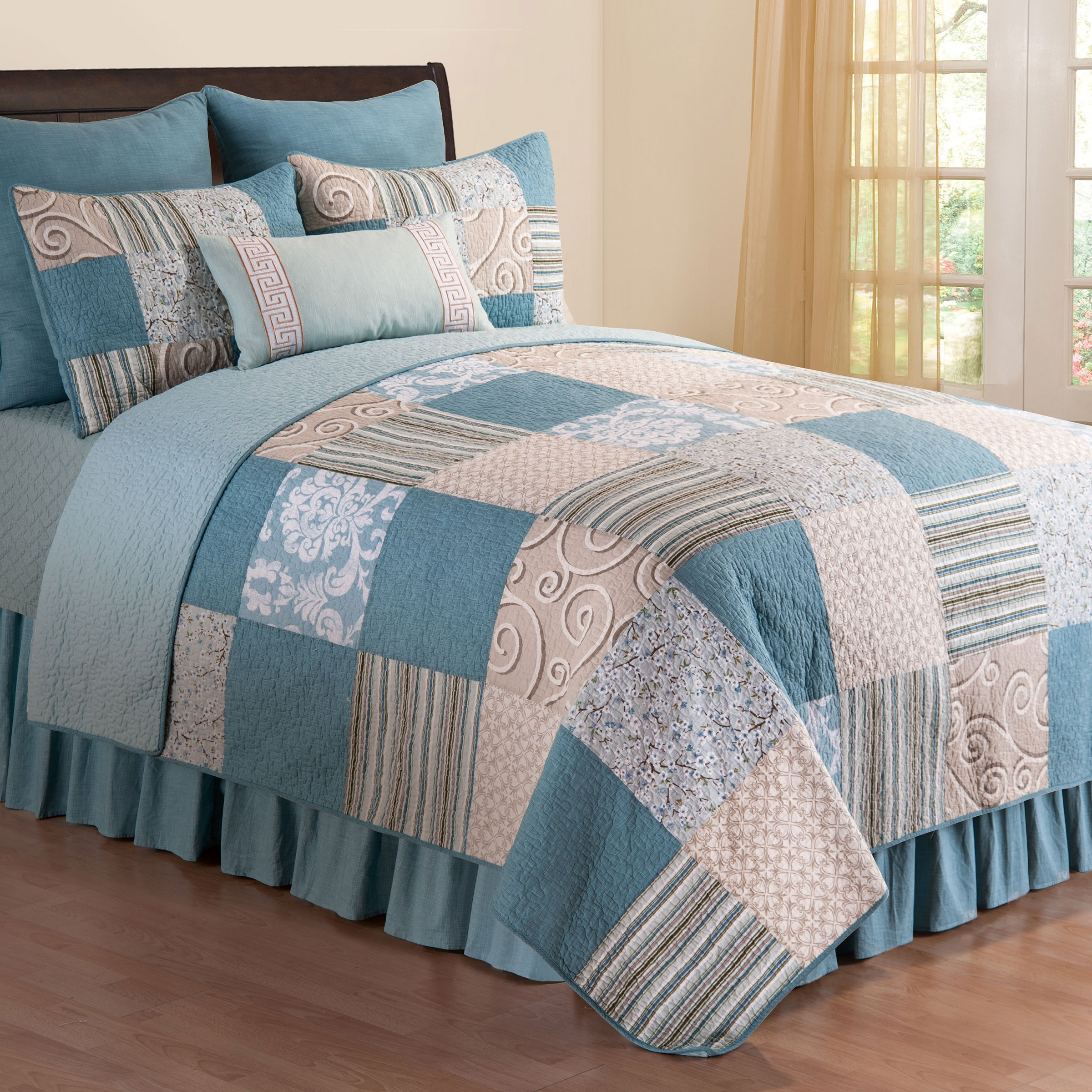 Melinda Full/Queen 3 Piece Quilt Set by C & F Home