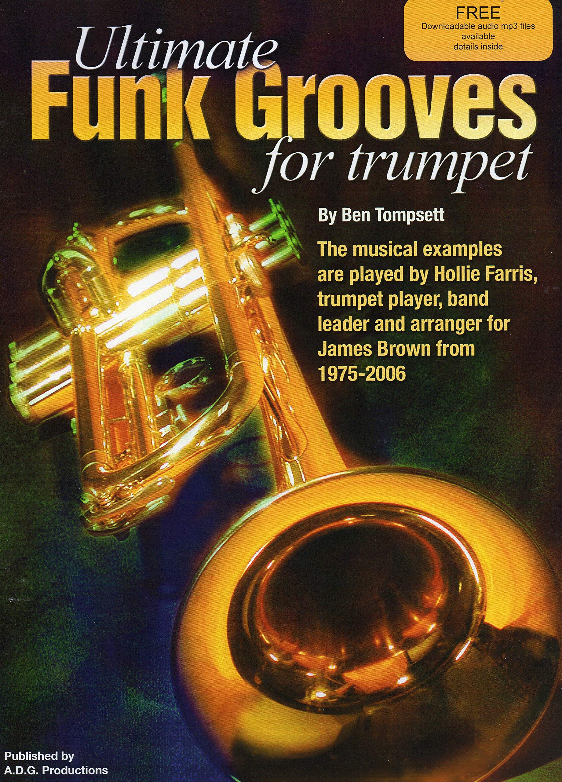 Ultimate Funk Grooves For Trumpet Book/downloadable audio files PDF