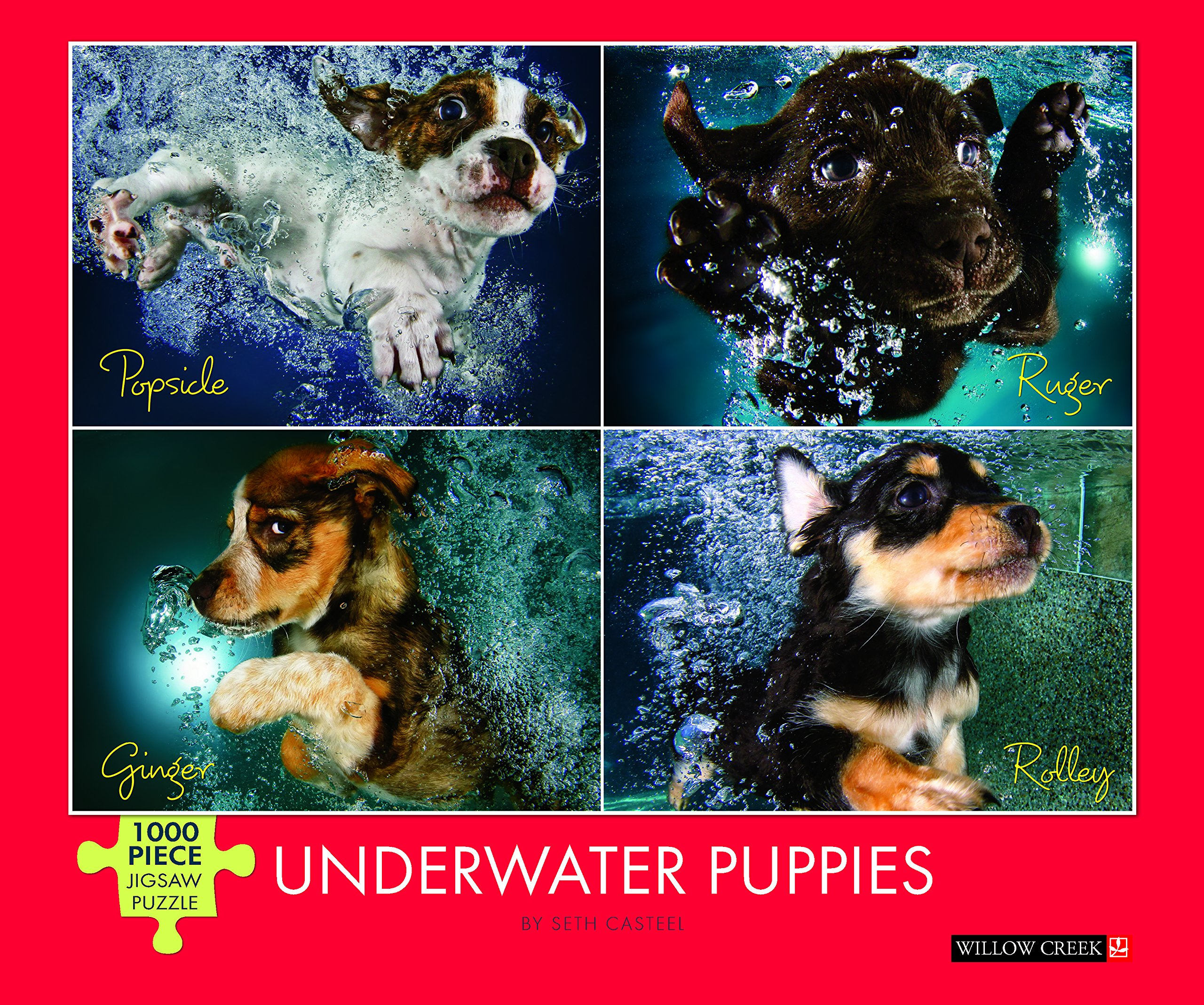 Underwater Puppies Piece Jigsaw Puzzle