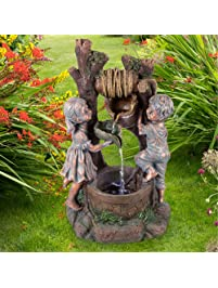 Pure Garden 50 201 Well Water Fountain