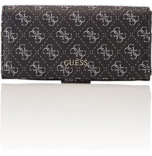 Guess Slg Wallet, Portefeuilles femme, (Coal), 2x10x20 cm (W x H L)