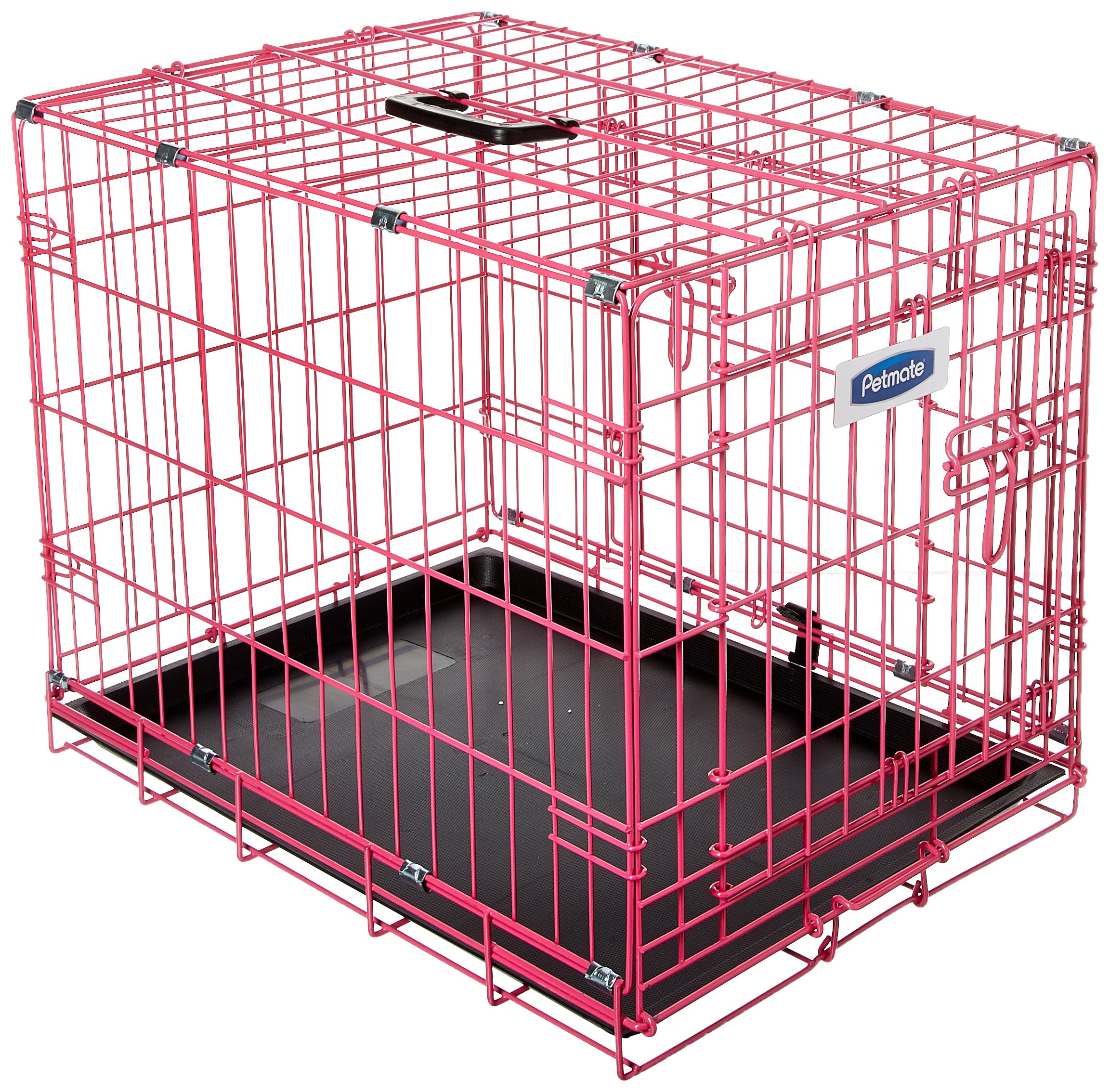 Petmate 21929 Puppy 2 Door Training Retreat, 24-Inch, Pink by Petmate