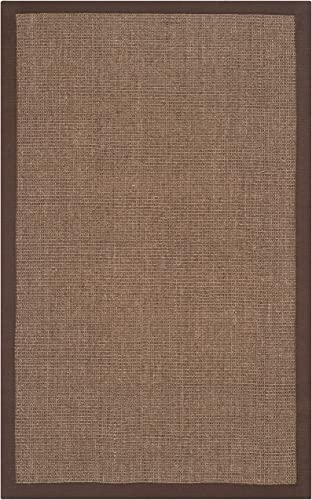 Safavieh Natural Fiber Collection NF441C Hand Woven Brown Sisal Area Rug 2'6″ x 4'