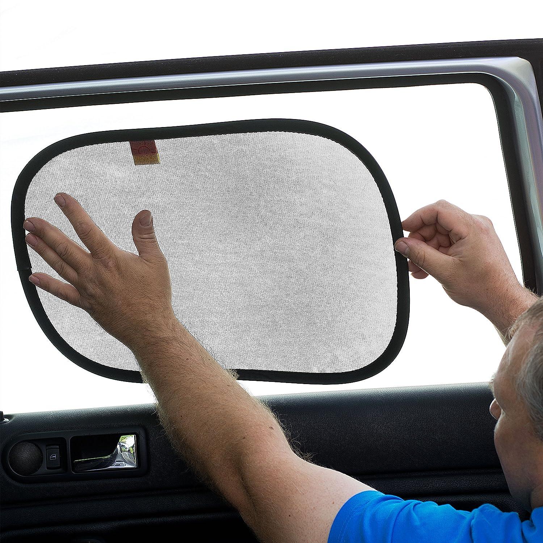 2 St/ück Baby und Haustiere Hitzeschutz f/ür Kind Extragro/ße selbsthaftende Sonnenblende passt universell Kinder Auto-Sonnenschutz f/ür Auto-Seitenfenster blockiert sch/ädliche UV-Strahlen