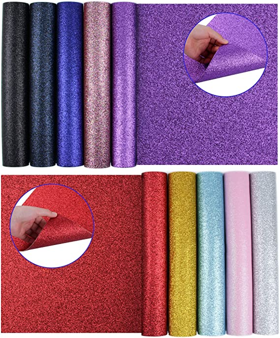 12 Yard Sheet Glitter Mermaid Scales Leather Fabric Metallic PU Leather Faux Leather Fabric Purses Leather Fabric Sold by Half Yard PF193