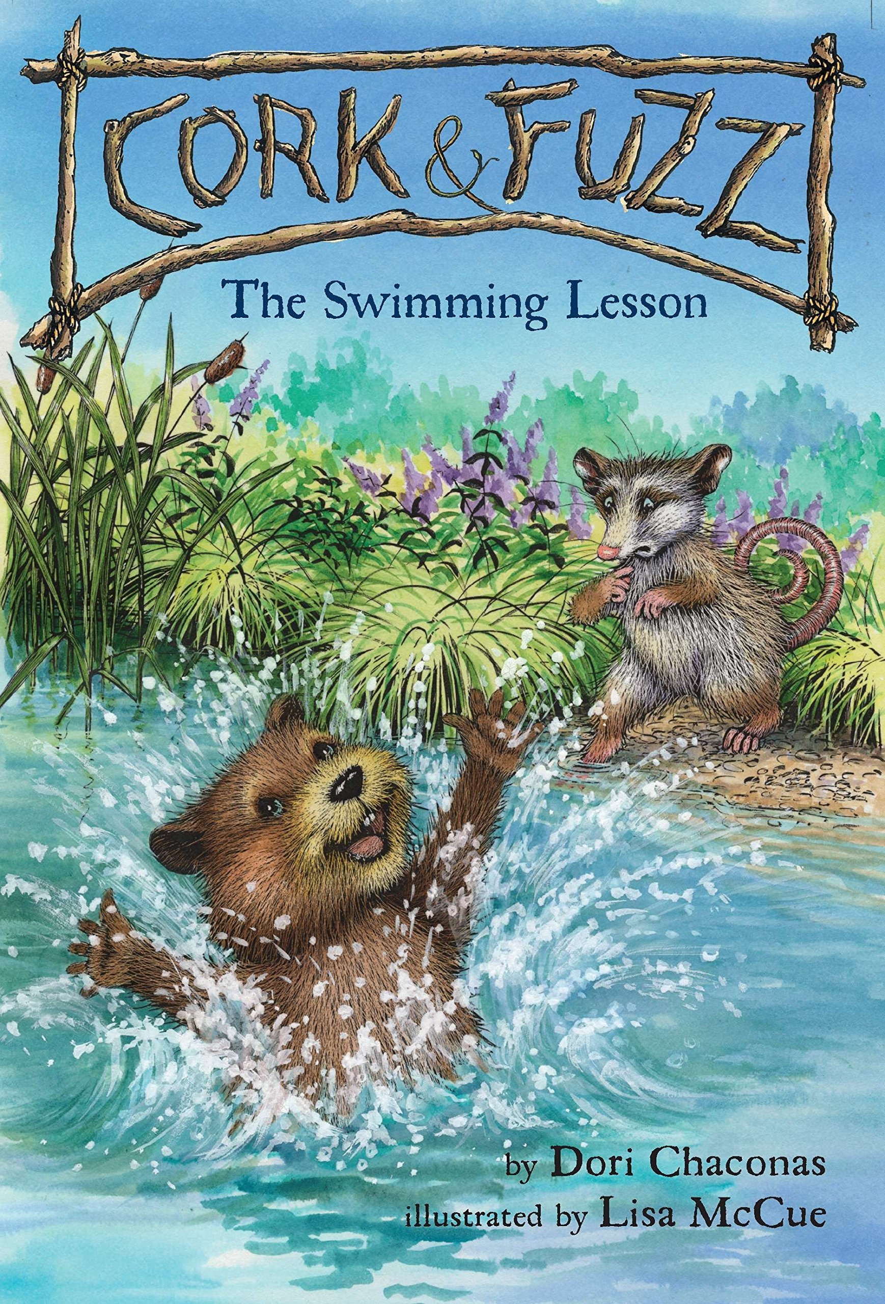 Read Online The Swimming Lesson (Cork and Fuzz) pdf epub