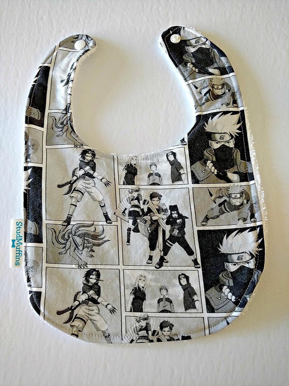 Naruto Handmade Bib Terry Cloth Drool Bib