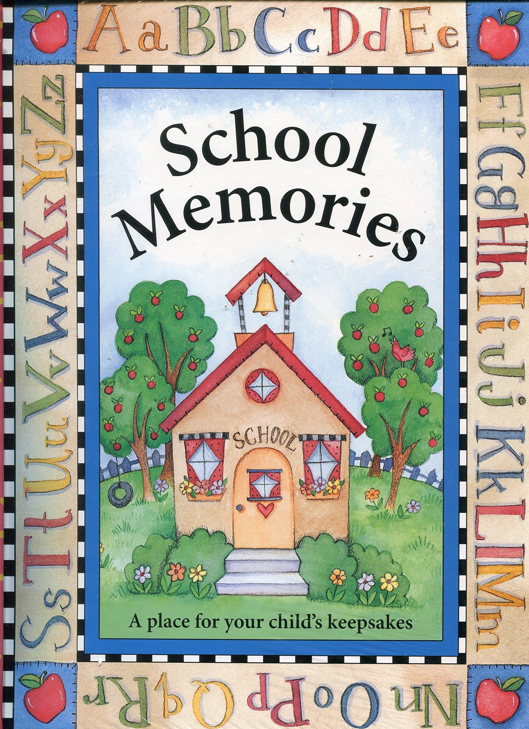 New Seasons School Memories Keepsake Photo Album Scrapbook by NewLine