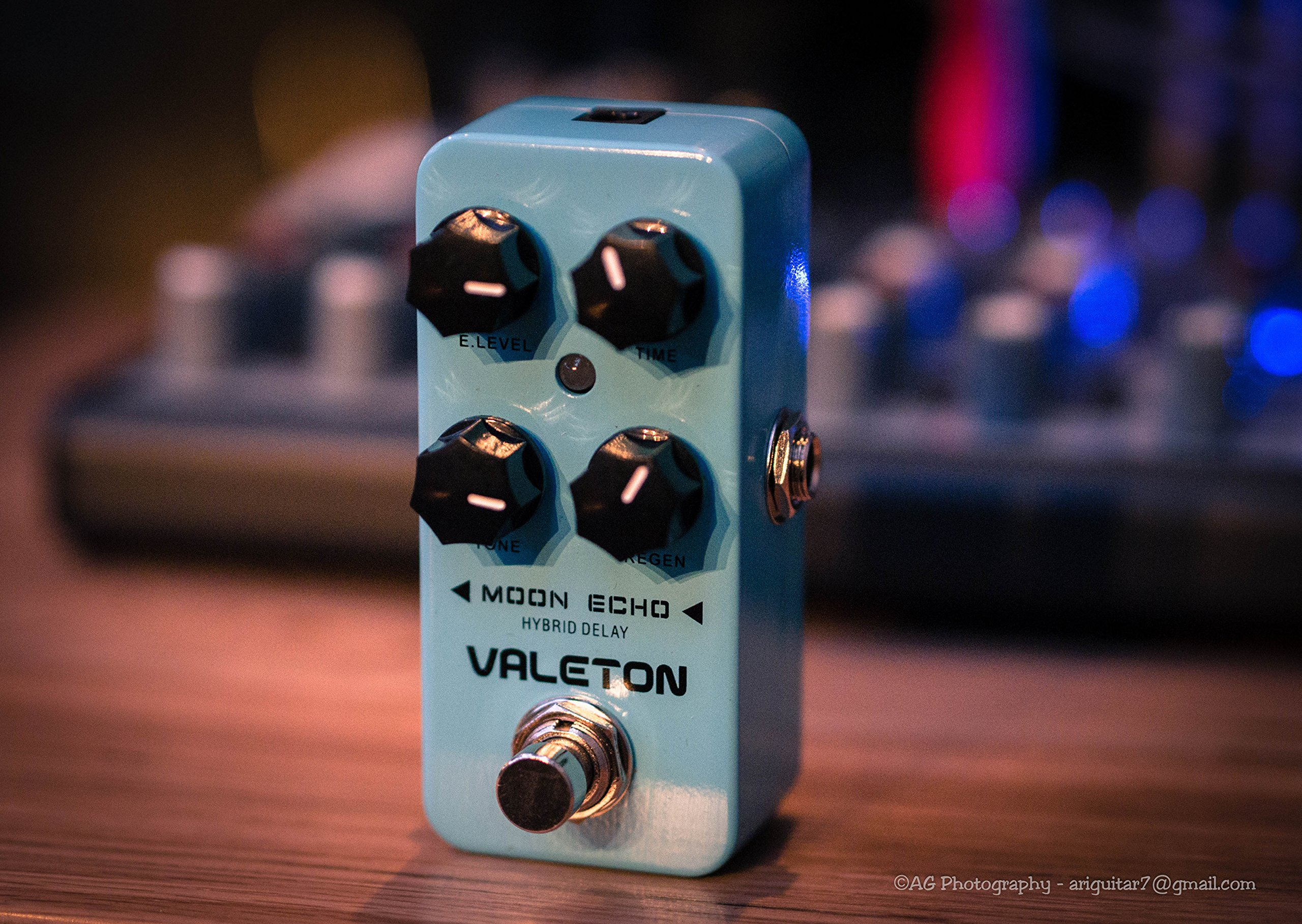Valeton Moon Echo Hybrid Delay Guitar Effects Pedal True Bypass by Valeton
