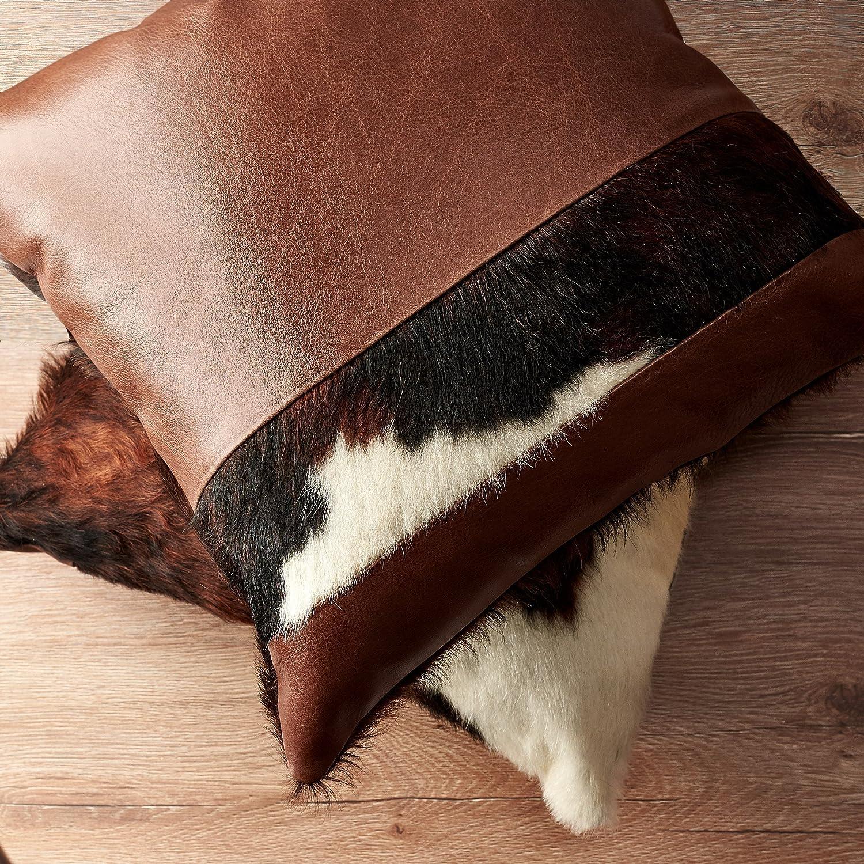 Enjoyable Amazon Com Capra Leather Cushion For Men 16 Black Outdoor Ibusinesslaw Wood Chair Design Ideas Ibusinesslaworg