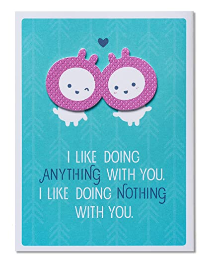 Amazon american greetings funny anything and nothing american greetings funny anything and nothing anniversary card with foil 5856660 m4hsunfo
