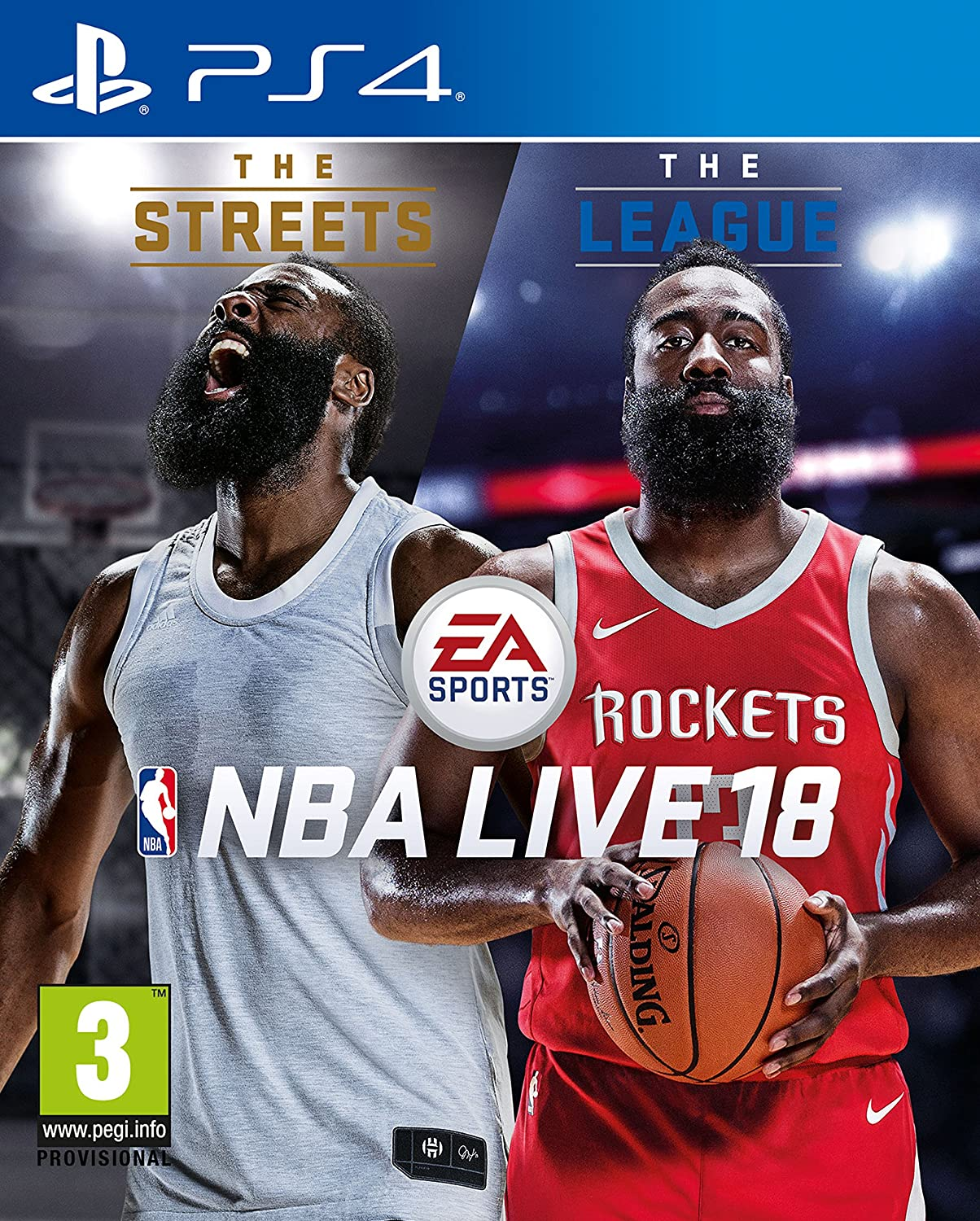 786cadf10423 Amazon.com  NBA Live 18 (PS4)  Video Games