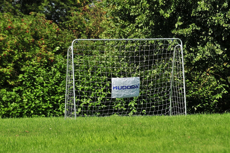 HUDORA Fußball-Tor Trainer mit Torwand - Fußballtor Garten - 76920 ...