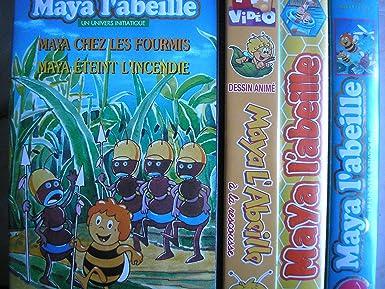 Lot 4 Cassettes Vidéo Maya L Abeille Maya Apprend A Voler Maya