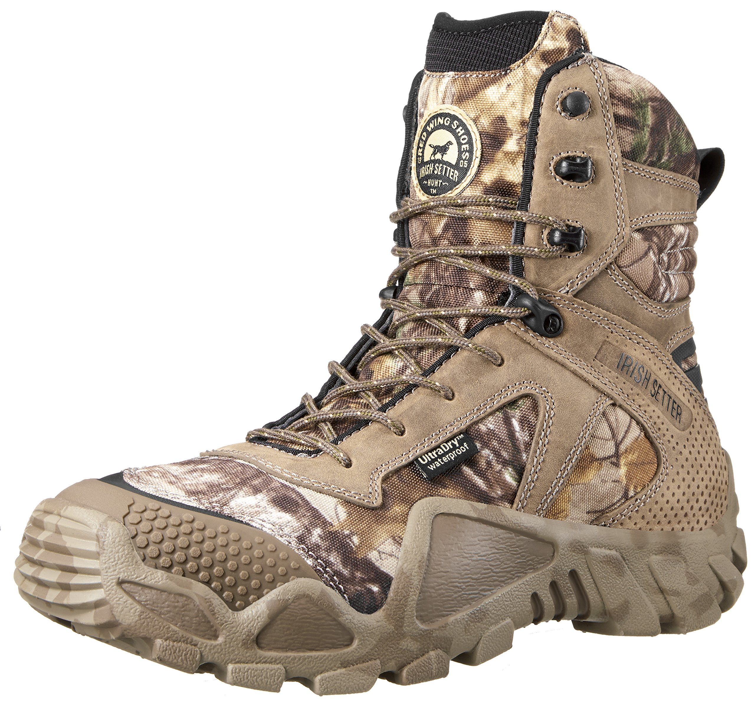 Irish Setter Men's 2870 Vaprtrek Waterproof 8'' Hunting Boot, Realtree Xtra Camouflage,9.5 EE US