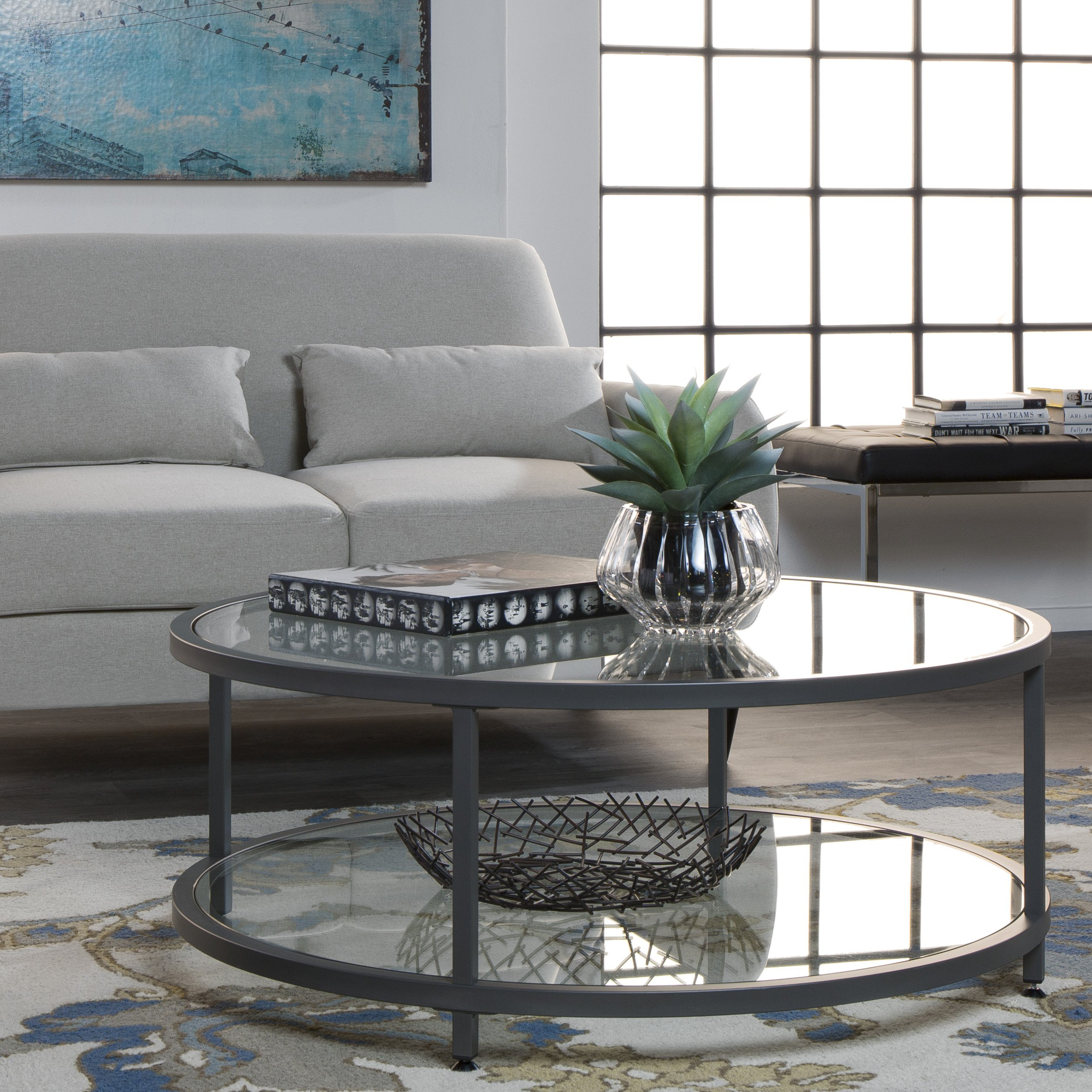 Studio Designs Home 71003.0 Camber Round Coffee Table In ...
