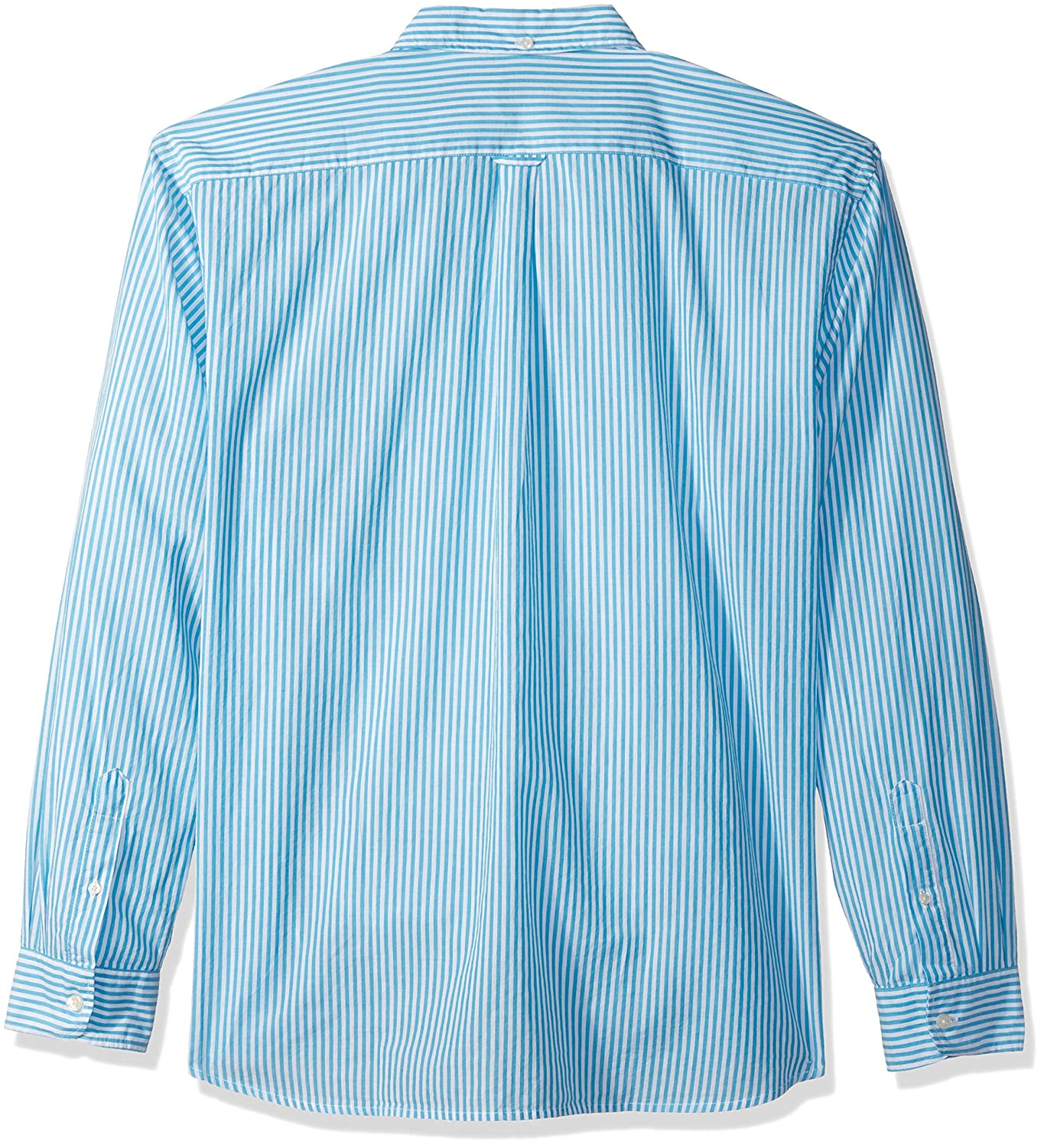Dockers Mens Poplin Long Sleeve Button-Front Shirt