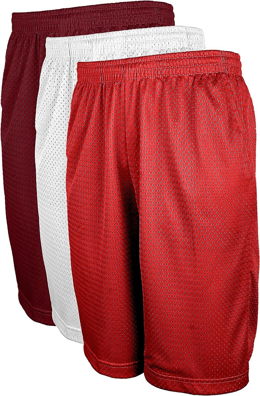 ViiViiKay Mens Active Running Basketball Mesh Shorts with Pockets in Sets S-5XL