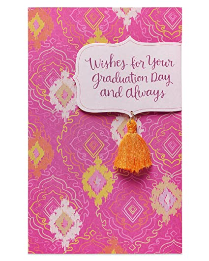 Amazon american greetings wishes graduation card for her american greetings wishes graduation card for her m4hsunfo